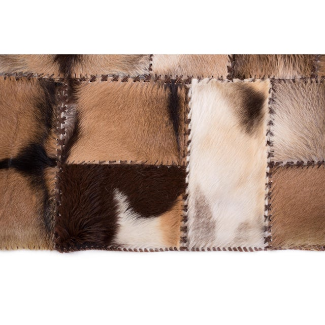 """Aydin Goatskin Patchwork Accent Area Rug - 4'7"""" x 6'7"""" - Image 4 of 9"""