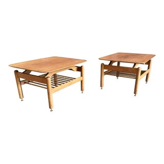 Greta Grossman Side Tables - A Pair For Sale