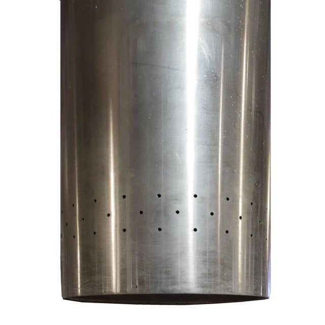 American Mid-Century Cylinder Light Fixture - Image 4 of 4