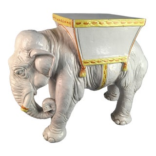 1970's Vintage Italian Elephant For Sale