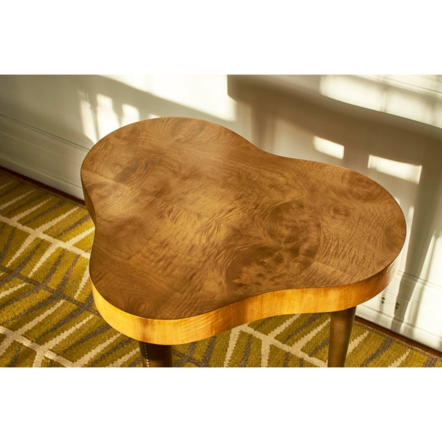 Gold Gilbert Rohde Occasional Table, for Herman Miller, 1940's For Sale - Image 8 of 9