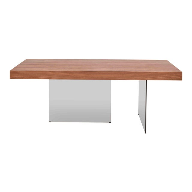 Natalie Dining Table, Walnut For Sale
