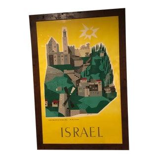 Jean David Israel Travel Poster For Sale