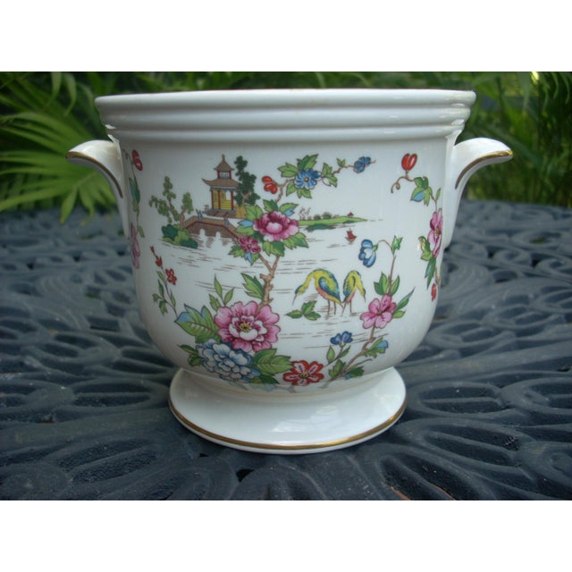 Vintage Staffordshire Crown Cachepot - Image 2 of 4