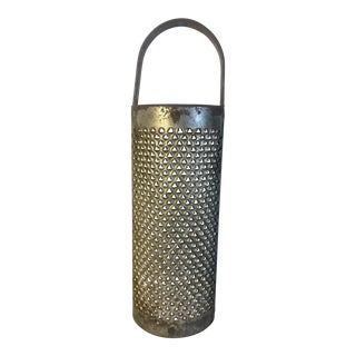 Late 19th Century Antique Rustic Kitchen Grater For Sale
