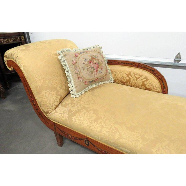 Adams Style Chaise Lounge Chair For Sale - Image 4 of 10