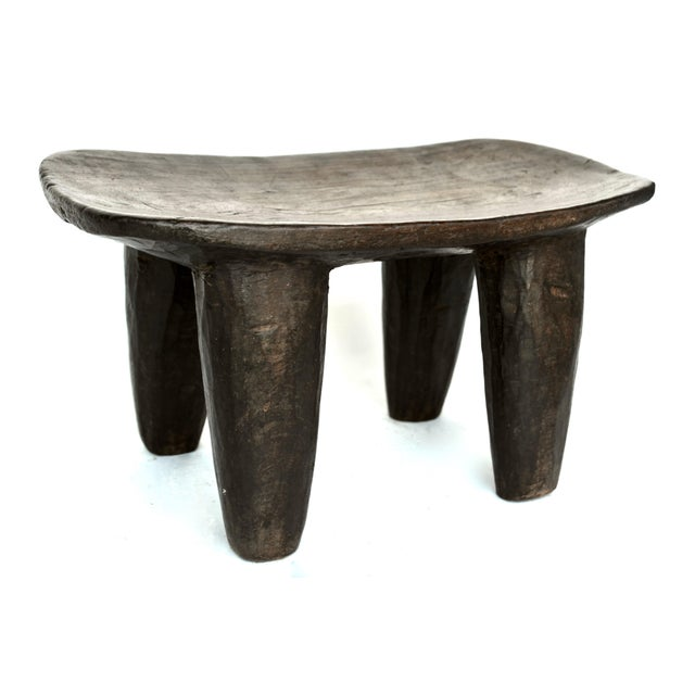 Wood African Senufo Wood Stool For Sale - Image 7 of 7