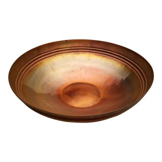 Thomas Roy Markusen Decorative Copper Bowl For Sale