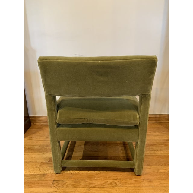 Textile Late 20th Century Baughman Style Armchairs- A Pair For Sale - Image 7 of 9