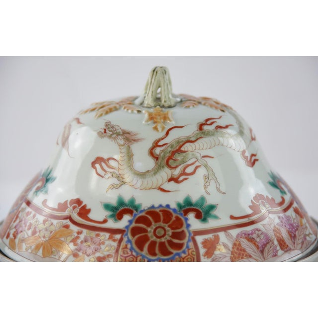 Antique Chinese Lidded Warming Dish - Image 8 of 9