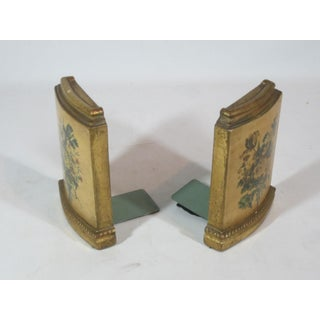 Borghese Floral Motif Bookends - a Pair Preview