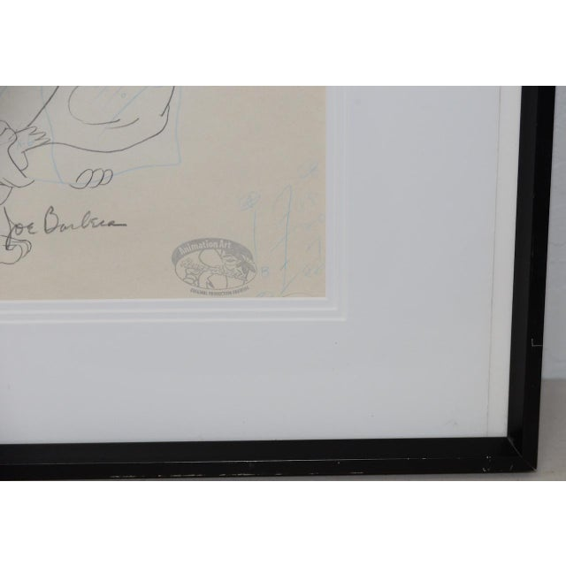 Barney Rubble - Original Animation Art Signed by Hanna & Barbera C.1993 For Sale - Image 4 of 10