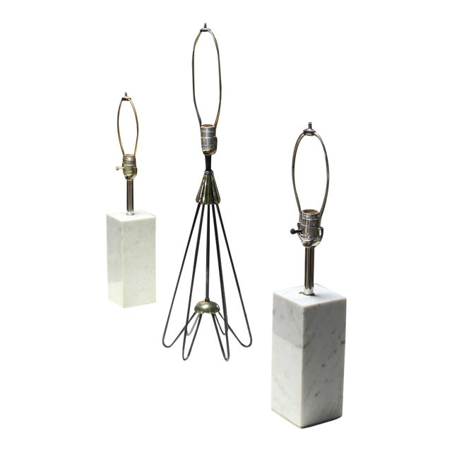 Superb bent wire base sculptural cone shape table lamp decaso bent wire base sculptural cone shape table lamp image 1 of 6 keyboard keysfo Choice Image