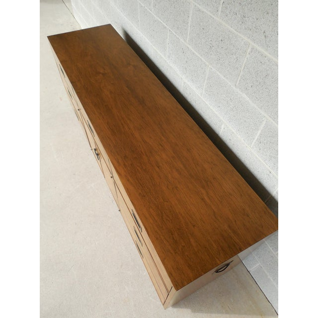 "John Stuart Campaign Style Credenza / Dresser 28.5""H x 76""W - Image 2 of 11"
