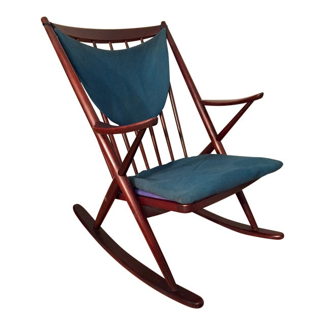 Bramin Mobler Frank Reenskaug Rocking Chair - Image 1 of 11