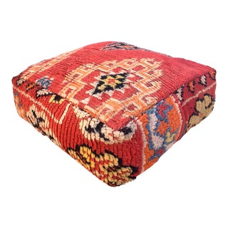 Mororccan Boujaad Unstuffed Pouf For Sale