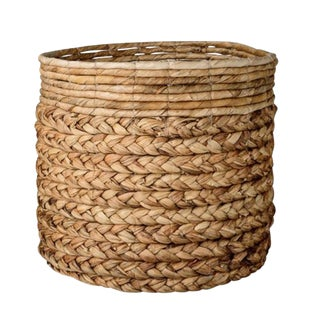 Large Woven Banana Leaf Basket For Sale