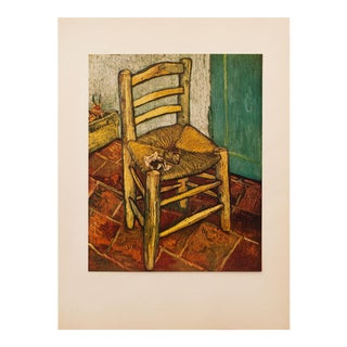 1950s Van Gogh's Chair by Vincent Van Gogh, First Edition Lithograph For Sale
