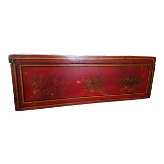 Late 19th Century Antique Chinese Scroll Box For Sale