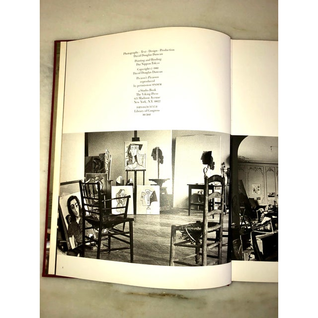"""1980s Vintage 1980 """"Viva Picasso"""" Coffee Table Studio Book For Sale - Image 5 of 13"""