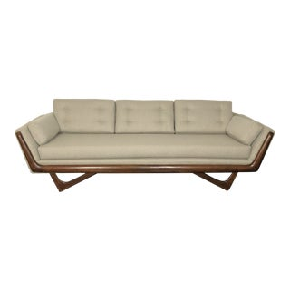 1960s Restored Adrian Pearsall Gondola Sofa For Sale