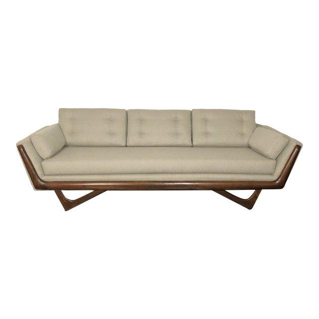 1960s Restored Adrian Pearsall Gondola Sofa For Sale