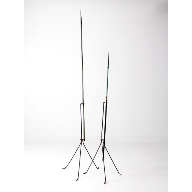 Antique Lightning Rods - A Pair For Sale - Image 4 of 8