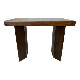 Paul Frankl for Johnson Furniture Cork Top Console Table For Sale
