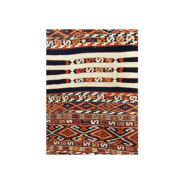 19th Century Azeri Kilim Runner - Image 3 of 7