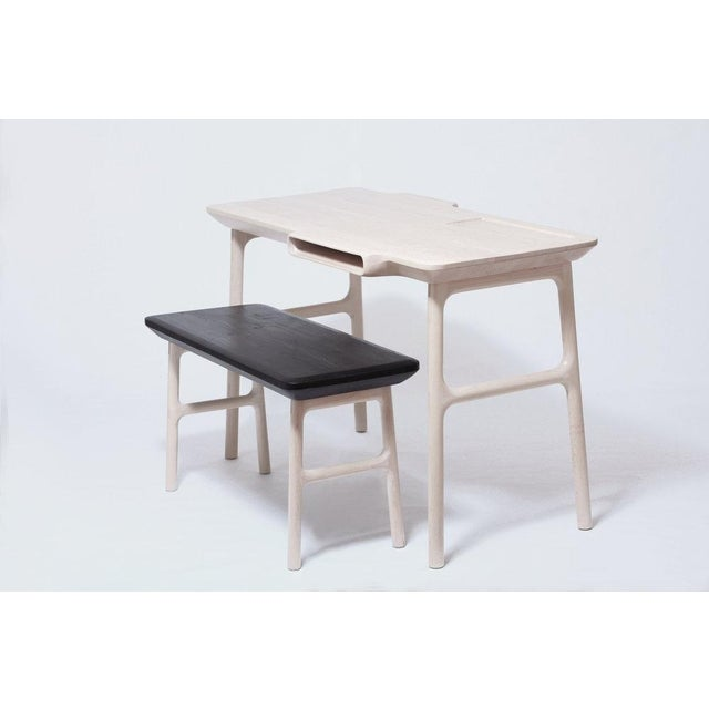 White Loïc Bard Desk Louise For Sale - Image 8 of 9