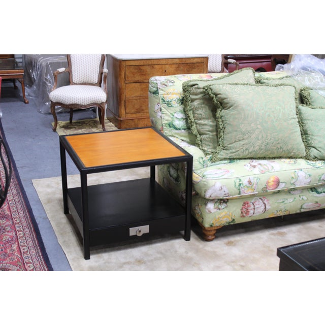 Mid-Century Baker Walnut End Tables - a Pair For Sale - Image 12 of 13