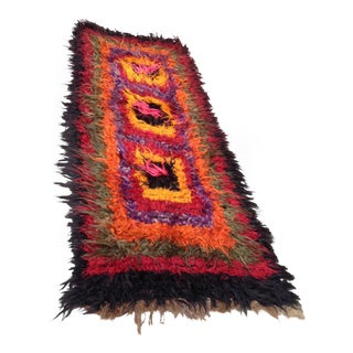 "Kars Tullu Original Kilim Runner - 8'4"" x 23'4"" For Sale"
