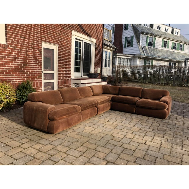Preview Vintage 1970s Vladimir Kagan Modular Sectional Sofa by Preview For Sale - Image 4 of 13