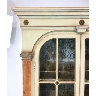 Vintage Continental Neoclassical Style Display Cabinet/Bookcase Preview