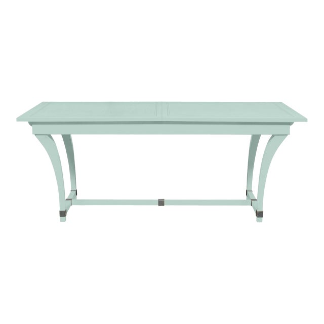 Casa Cosima Living Rhodes Dining Table - Palladian Blue For Sale