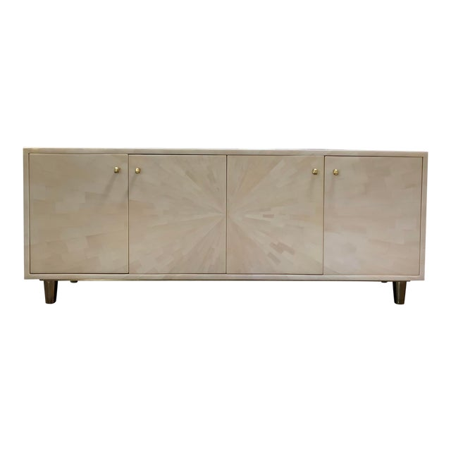 Made Goods Faux Horn Buffet For Sale