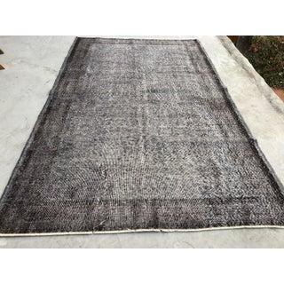 1960s Vintage Turkish Oushak Carpet - 5′7″ × 8′11″ Preview