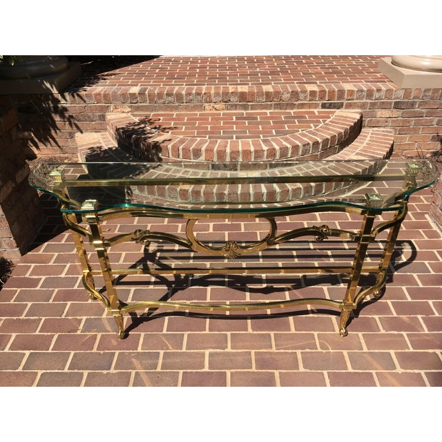 La Barge LaBarge Sofa Table For Sale - Image 4 of 10