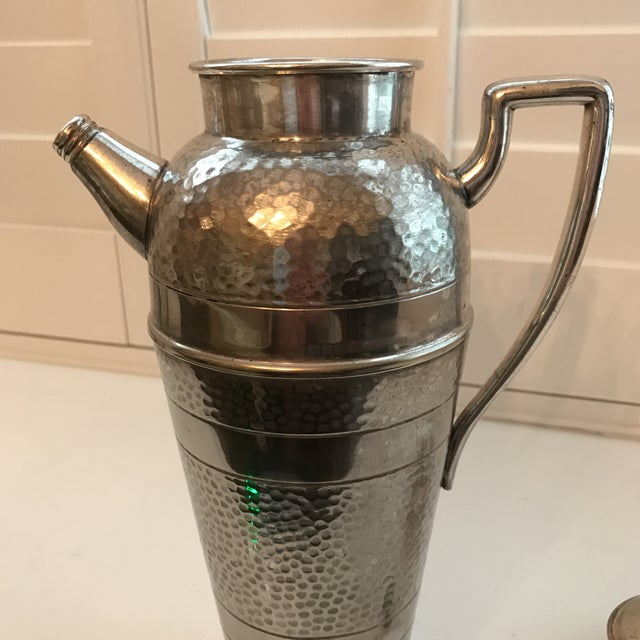 Forbes Silver Co. Art Deco Martini Shaker For Sale - Image 9 of 11