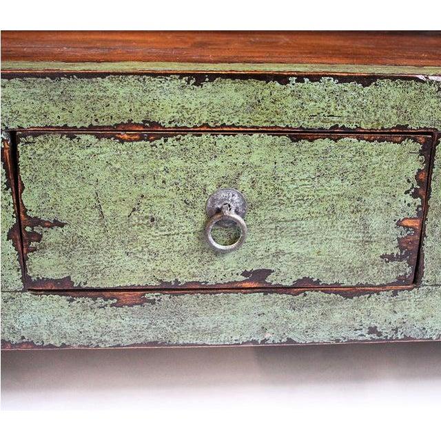 Vintage Green Shelf - Image 3 of 3