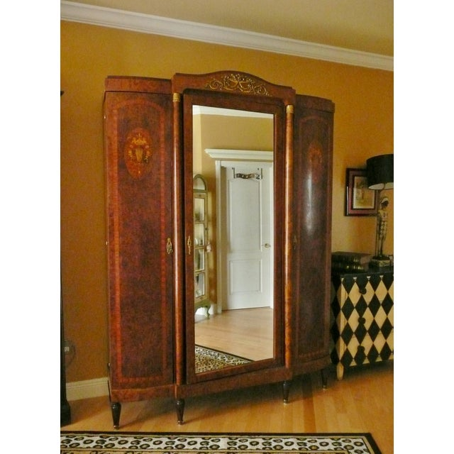 18th Century Louis VI Chateau Armoire For Sale - Image 13 of 13