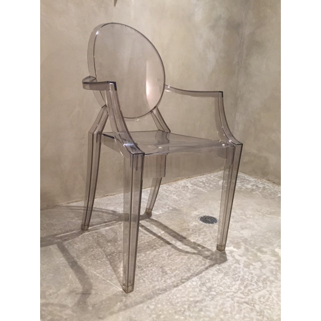 Contemporary Philippe Starck Ghost Chairs - Set of 4 For Sale - Image 3 of 7