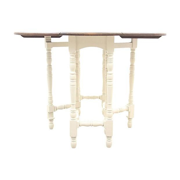 Queen Anne-Style Gateleg Table - Image 6 of 7
