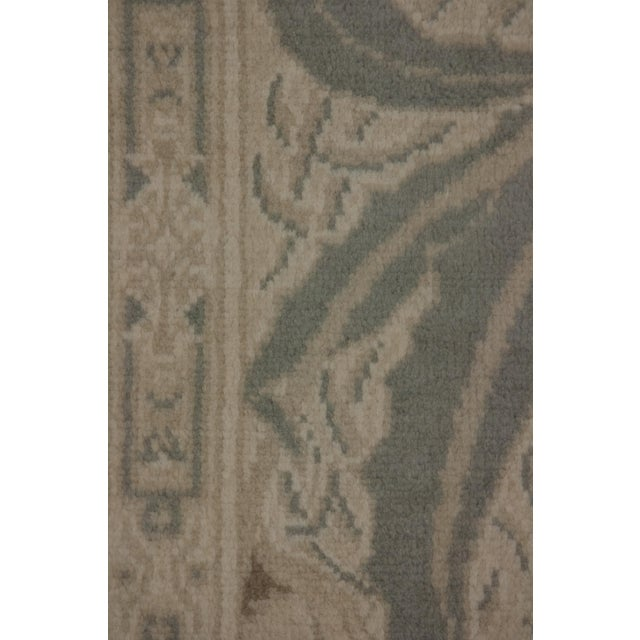 """Traditional Oushak Hand Knotted Area Rug - 6'0"""" X 8'10"""" For Sale - Image 3 of 3"""