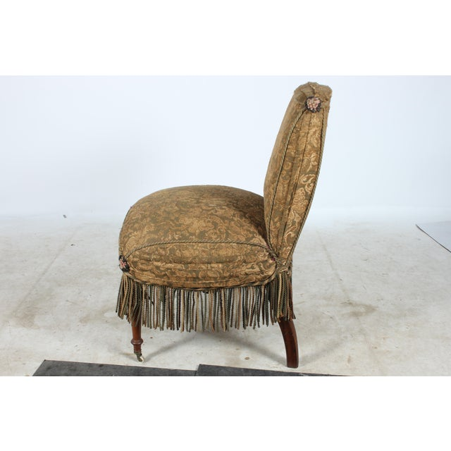 Early 1900s Boudoir Style Chair - Image 3 of 5
