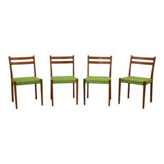 Svegards Markaryd Swedish Teak Dining Chairs- Set of 4 For Sale