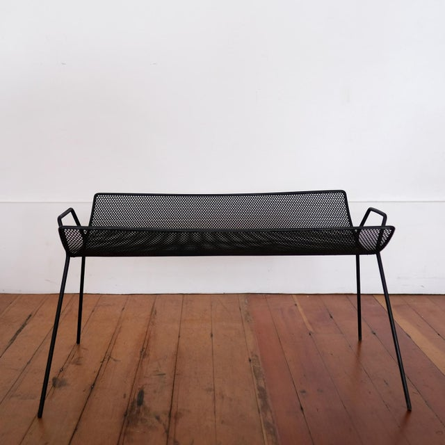 1950s Perforated Metal Catch All by Richard Galef for Ravenware, 1950s For Sale - Image 5 of 8