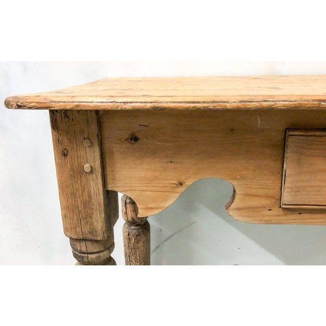 Antique French Pine Console Table - Image 5 of 5