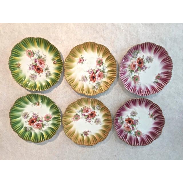 Ceramic Vintage Austrian Habsburg Dessert Plates - Set of 6 For Sale - Image 7 of 7