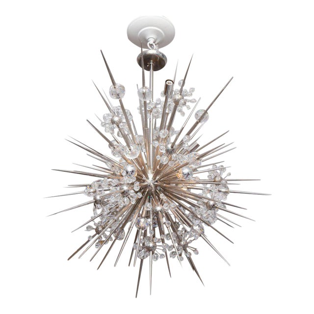 Custom Austrian Crystal Spiked Sputnik For Sale